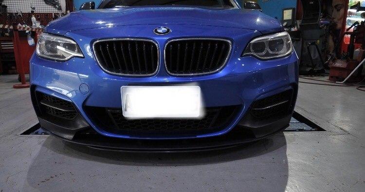 Dokładka zderzaka przedniego BMW F22 F23 M Performance - GRUBYGARAGE - Sklep Tuningowy